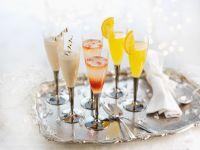 Verschiedene Cocktails Rezept