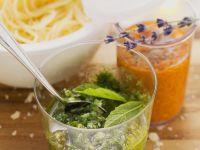 Verschiedene Pesto Rezept