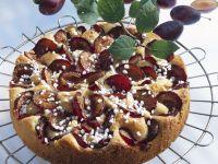 Versunkener Pflaumenkuchen mit Hagelzucker Rezept