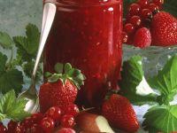 Vierfrucht-Konfitüre Rezept