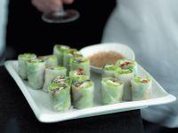 Sommerrollen mit vietnamesischem Sesam-Dip Rezept