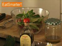 Eine klassische Vinaigrette zubereiten