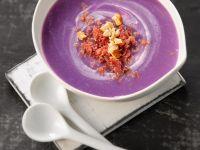 Violette Kartoffelsuppe Rezept