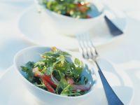 Vogelmiere-Paprika-Salat Rezept