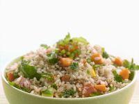 Vollkornreis-Salat mit Gemüse Rezept