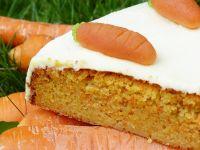 Vollwert-Möhrenkuchen mit Quarktopping Rezept