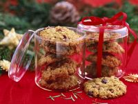 Vollwertplätzchen mit Cranberries Rezept
