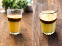 Ultimativer Wachmacher: Espresso mit Orangensaft?