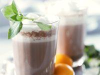 Wärmender Kakao mit Orange und Minze Rezept