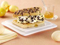Waffel-Burger mit Eierlikör-Vanille-Eis Rezept