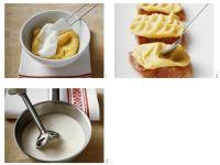 Waller mit Kartoffelkrruste und Biersauce zubereiten Rezept