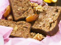 Walnuss-Dattel-Brot Rezept