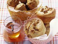 Walnuss-Honig-Muffins Rezept