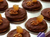 Walnuss-Schokoladen-Muffins mit Ingwer Rezept