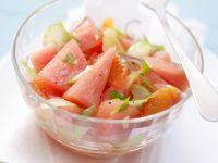 Wassermelonen-Orangen-Salat Rezept