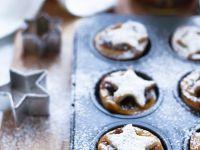 Weihnachtliche Küchlein mit Trockenfrüchten Rezept