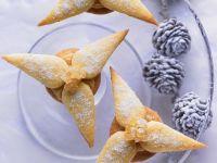 Weihnachtliche Marzipan-Ingwer-Sterne Rezept