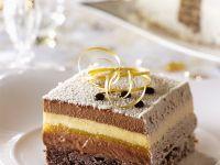 Weihnachtliche Torte nach franzöischer Art Rezept