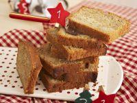 Weihnachtlicher Bananenkuchen Rezept