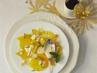 Weihnachtlicher Mango-Ananas-Salat Rezept
