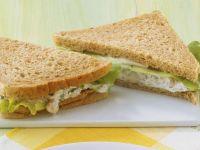 Weißbrot-Sandwich Rezept