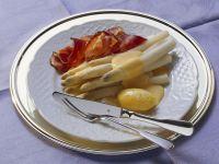 Weißer Spargel mit Sauce Holandaise Rezept