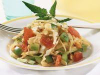 Weißkohl mit Tomaten und Paprika Rezept