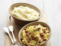 Weißkraut-Chorizo-Gemüse mit Kartoffelbrei Rezept