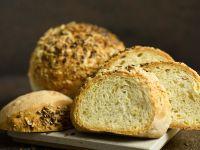 Weizenbrötchen mit Käse Rezept