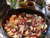 Wellfleisch mit Gemüse Rezept