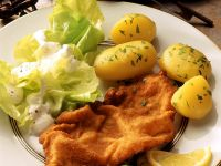 Wiener Schnitzel mit Petersilienkartoffeln Rezept
