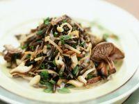 Wildreis-Pilzsalat Rezept
