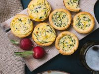 Wildspargel-Quiches Rezept