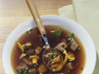 Wildsuppe mit Pilzen Rezept