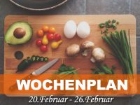 Wochenplan vom 20. Februar bis 26. Februar 2017