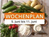 Wochenplan vom 5. Juni bis 11. Juni 2017