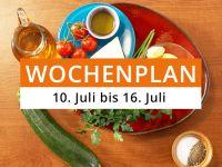 Wochenplan vom 10. Juli bis 16. Juli 2017