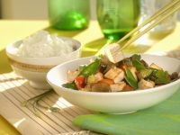 Wok mit Tofu und Gemüse Rezept