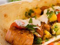 Wrap mit Thunfisch und Mango Rezept