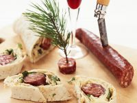 Wraps mit Chorizo-Kohlfüllung Rezept