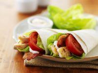 Wraps mit Hähnchen und Tomaten Rezept
