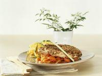 Würzhähnchen auf Karottengemüse Rezept