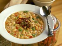 Würzige Bohnensuppe Rezept