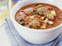 Würzige Couscous-Suppe Rezept