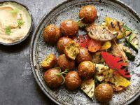 Würzige Falafel mit Chili Rezept