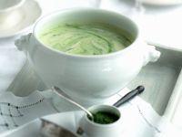 Würzige grüne Kartoffelsuppe Rezept