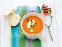 Feurige Paprika-Suppe Rezept