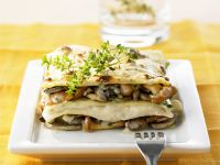 Würzige Pilz-Lasagne Rezept