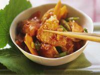 Würziges Hähnchenbrustfilet mit Gemüse Rezept