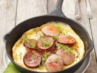 Wurst-Omelett Rezept